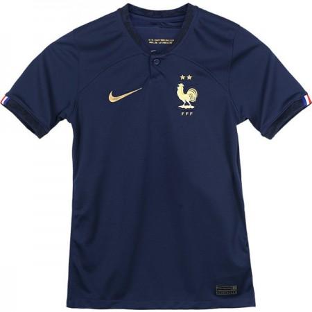 Günstige Frankreich WM 2018 FuÃballtrikots Heimtrikot