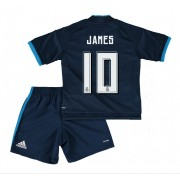 Günstige Real Madrid 2015-16 Kinder Fußball Trikotsatz James 10 3rd Trikot..